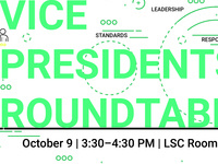 Student Organization Vice Presidents Roundtable