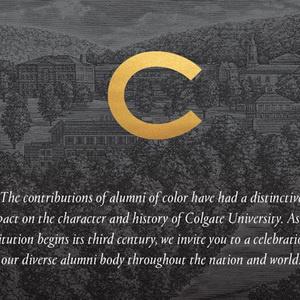 Colgate's Multiculturalism: Past, Present and Future