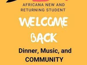Africana Welcome Back