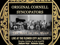 Original Cornell Syncopators: Live at the Flower City Jazz Society, Rochester, NY
