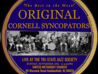 Original Cornell Syncopators: Live at the Tri State Jazz Society (Philadelphia, PA)
