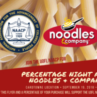 Percentage Night at Noodles & Company