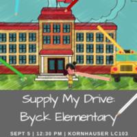 Supply My Drive: Byck Elementary