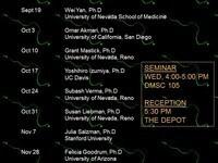 Neuro/CMB Seminar Series