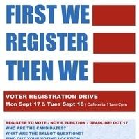First We Register Then We Vote