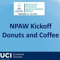 NPAW Kickoff- Donuts and Coffee