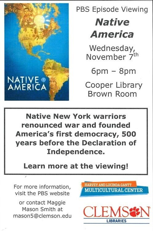 Native America Episode Viewing