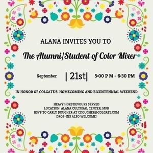 ALANA Homecoming Alumni/Student Mixer