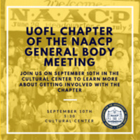 UofL NAACP General Body Meeting