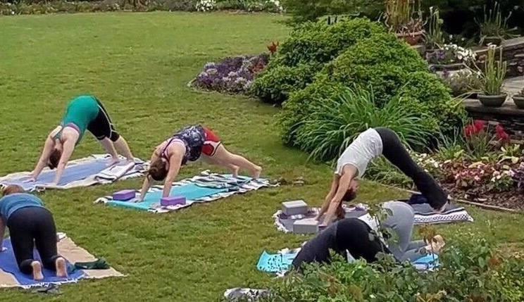 Garden Yoga Tuesdays, Sept 4- Dec 18