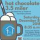 Hot Chocolate 3.5 Mile Run