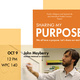 Sharing My Purpose: Keynote Speaker John Mayberry
