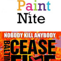 Ceasefire Painting Session