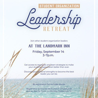 Student Organization Leadership Retreat