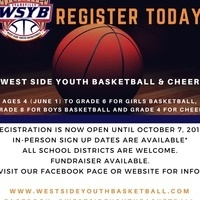 WSYB youth basketball & cheer registration