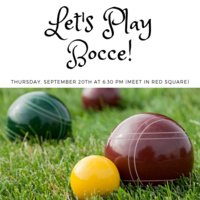 Bocce with the Tutors