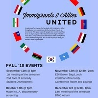 Immigrants & Allies UNITED Fall 2018 Meeting