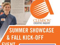 Creative Inquiry Summer Showcase & Fall Kick-off