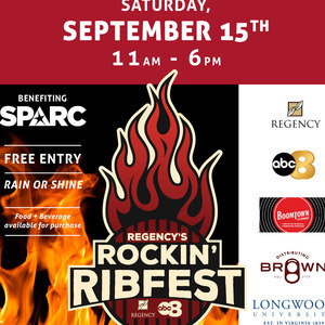 Regency's Rockin' Ribfest to Benefit SPARC