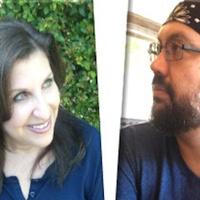 Fall 2018 Writers on the Bay reading by Lisa Glatt & David Hernanez
