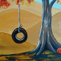 Autumn Swing Painting Class ~ Ages 21 and up ~