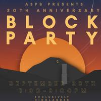 ASPB Presents: Block Party 2018