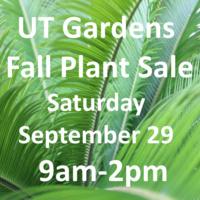 UT Gardens Fabulous Fall Plant Sale