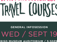 Wintersession Travel Courses | Information Session