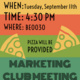 Marketing Club Meeting