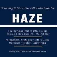 Screening of Haze