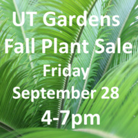 UT Gardens Fabulous Fall Plant Sale