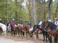 Trailriding with SHSU Outdoor Recreation