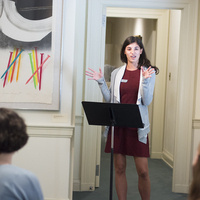 Gallery Talk with Student Curators
