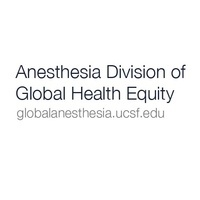 Opportunities for anesthesiologists to get involved in global health (lecture)