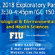 Biological & Environmental Sciences and Health Sciences Exploratory Professional Panel