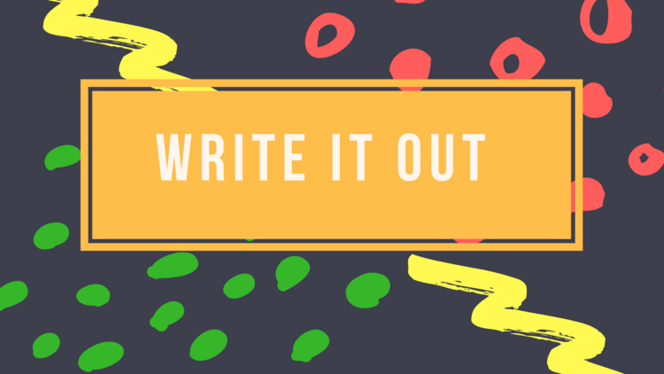 Sep 25, 2018: Write it Out : Reshaping your story through poetry  at CL-211
