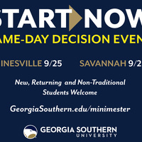 Start Now Fall Minimester - Armstrong Campus