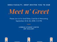 Faculty Meet & Greet