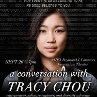 A CONVERSATION WITH TRACY CHOU