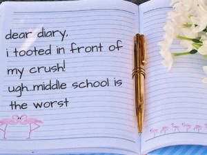 Diary Reading Open Mic