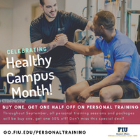Half Off Personal Training @ The WRC