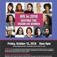 HIV in 2018: Keeping the Vision on Women