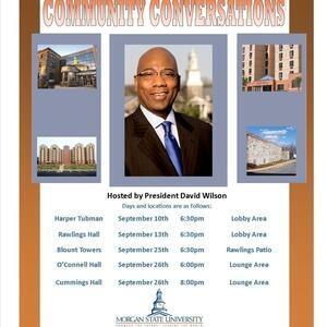 "President Wilson's ""Community Conversations"""
