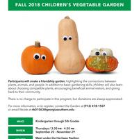 Children's Vegetable Garden at the Botanic Garden