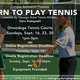 Learn to Play Tennis