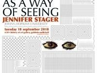 Visual Culture Colloquium - Jennifer Stager