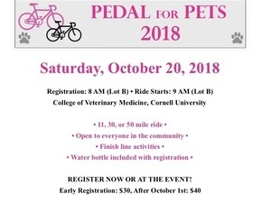 9th Annual Pedal for Pets Bike-a-thon