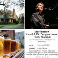 RSOL Designer House Thirsty Thursdays featuring Steve Bassett