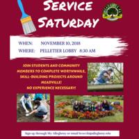 Service Saturday