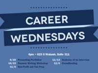 Career Wednesdays: Non-Profit Fair Prep